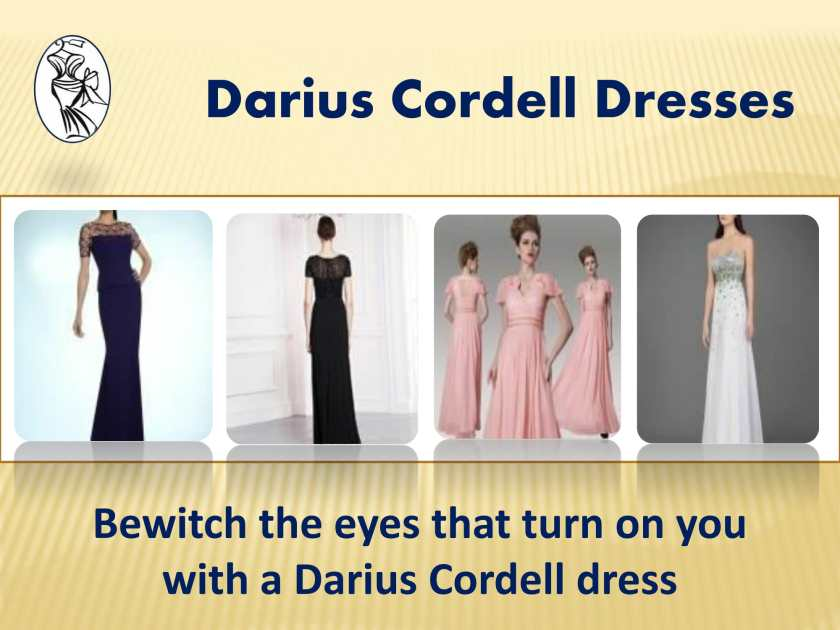Bewitch the eyes that turn on you with a Darius Cordell dress-1